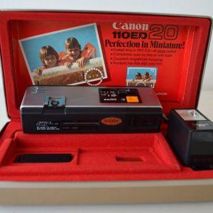Φωτογραφική μηχανή Canon 110 ED20  - Vintage 70's (Japan)