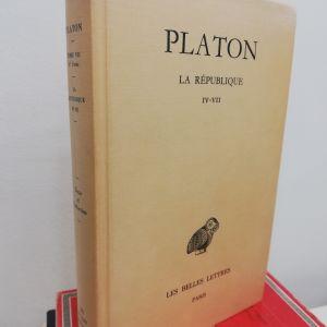 Πλάτων Πολιτεία βιβλία ΙV - VII belles lettres