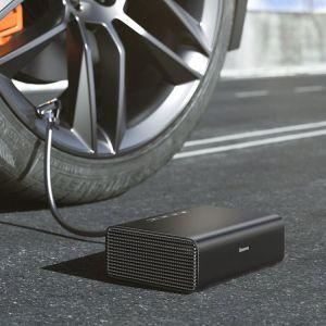BASEUS mini συμπιεστής αέρος αυτοκινήτου CRCQB01-01, μαύρος