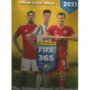FIFA 365-2021-PANINI STICKER ALBUM