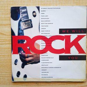 Rock, Hard Rock συλλογή WE WILL ROCK YOU, 2πλος δισκος βινυλιου, επιλογη με Classic Rock, Hard Rock