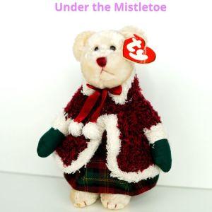 ΤΥ συλλεκτικό αρκουδάκι ειδικής χριστουγεννιατικης έκδοσης (έτος 2000)