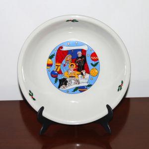 Vintage Χριστουγεννιάτικο Πιάτο