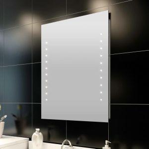 Καθρέφτης Μπάνιου 50x60cm(Μ x Υ) με Φώτα LED- 240511