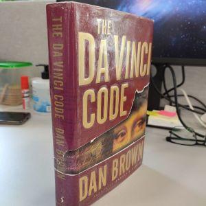 The da vinci code by Dan Brown hardback 1st edition