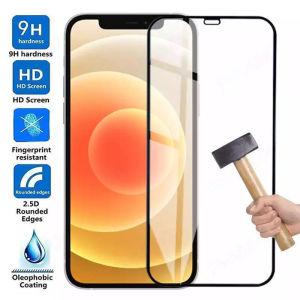 New Για Apple iPhone 13 /13 Pro Max /11 / XR / XS Max / 11 Pro Max / 12 Mini / 12 / 12 Pro Max. Full Face 3D ΠΡΟΣΤΑΣΙΑ ΟΘΟΝΗΣ Tempered Glass