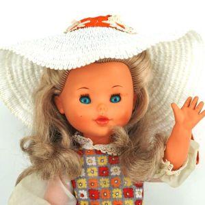 Vintage Ιταλική κούκλα Furga, μοντέλο δεκαετίας 1960