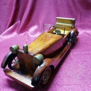 Ξύλινο αυτοκίνητο διακοσμητικο