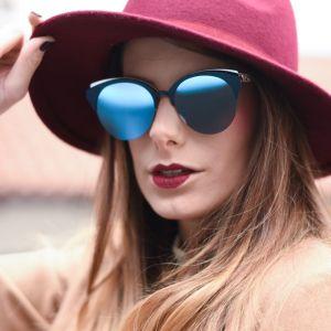 γυαλια του οικου Dior Women's Light Blue Cat Eye Ladies ολοκαινουργια