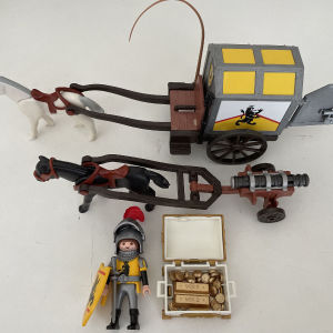 Playmobil αμαξα ιπποτικη!