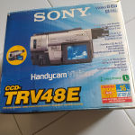 Video camera Sony 8 XR. 8PAL.  360X Digital zoom