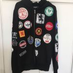 Dsquared2 patches hoodie