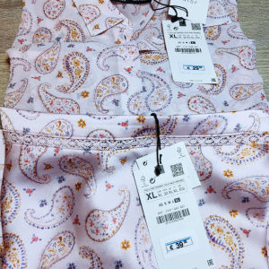 καινούριο γυναικείο σετ φούστα πουκάμισο.