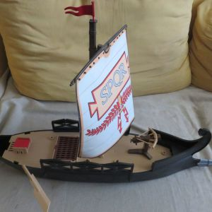 Playmobil μεγαλη ρωμαικη γαλερα με ελλειψεις