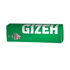 ΤΣΙΓΑΡΟΧΑΡΤΟ GIZEH FINE GREEN CUT CORNERS 50 ΦΥΛΛΩΝ