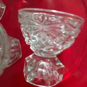 Ποτηράκια λικέρ κρυστάλλινα αντίκες (4)