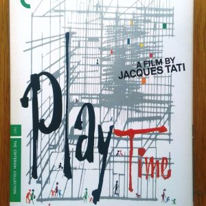 Playtime Criterion collection 2 disc dvd