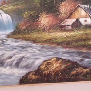Πίνακας ζωγραφικής σε καμβά.