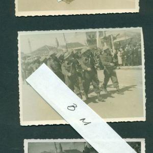 ΠΑΛΙΕΣ ΦΩΤΟΓΡΑΦΙΕΣ. ΤΡΙΚΑΛΑ. 3 ΠΑΛΙΕΣ ΦΩΤΟΓΡΑΦΙΕΣ ΤΟΥ ΦΩΤΟΓΡΑΦΟΥ ΜΑΝΘΟΥ. ΑΡΧΕΣ ΔΕΚΑΕΤΙΑΣ 1950. ΣΚΗΝΕΣ ΑΠΟ ΠΑΡΕΛΑΣΕΙΣ. ΔΙΑΣΤΑΣΕΙΣ 6,50 χ 8,50 ΕΚΑΤ. ΣΕ ΠΟΛΥ ΚΑΛΗ ΚΑΤΑΣΤΑΣΗ.