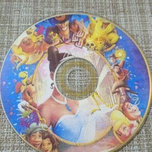 DVD ΠαιδικηΤαινια *ΠΡΙΓΚΙΠΙΣΣΑ* OALT DISNEY.