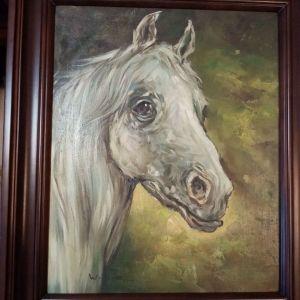 Πίνακας με άλογο