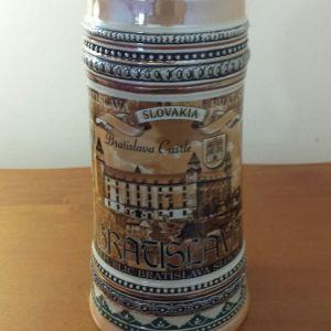 Συλλεκτικο ποτηρι μπυρας αγορασμενο Μπρατισλαβα