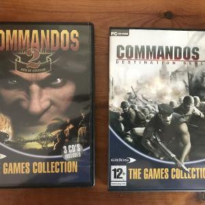 PC Games (Commandos 2-3)