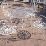 FER FORZE τραπέζι με 4 καρέκλες φερ Φορζέ