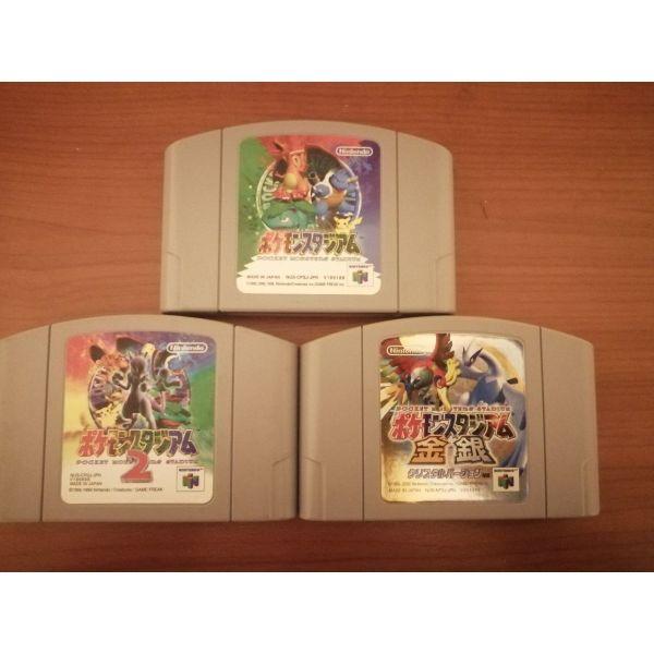 pokemon gia Nintendo 64