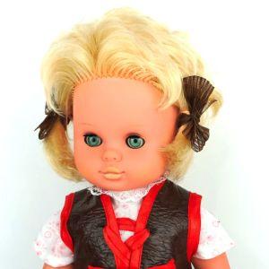 Sonnenberg-vintage κούκλα Ανατ. Γερμανίας DDR, δεκαετίας 1970