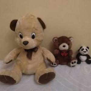 3 Λουτρινα Αρκουδάκια μαζί