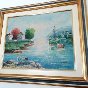 Πίνακας ζωγραφικής ελαιογραφία
