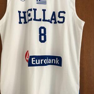 Φανέλα - Εμφάνιση Nick Calathes Εθνική Ελλάδος Hellas GSA XL