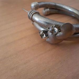 Vintage σκουλαρίκια ασημένια αυθεντικά