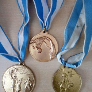 Μετάλλια Μπάσκετ.