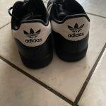 Sneakers τύπου superstar μαύρα 41