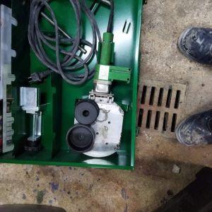 Μηχανή συγκόλλησης aquatherm Φ110 με καλούπι Φ75
