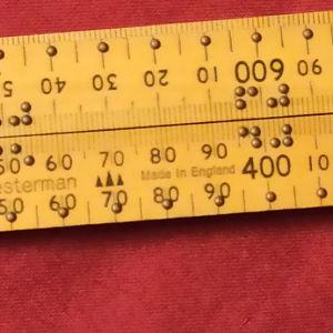 Παλιό εξειδικευμένο μέτρο για τυφλούς