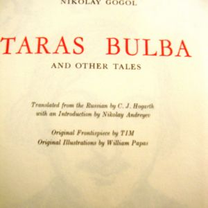 NIKOLAI GOGOL.TARAS BULBA and other tales
