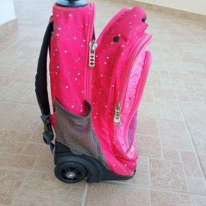 Σχολική τσάντα polo τρόλεϊ κορίτσι