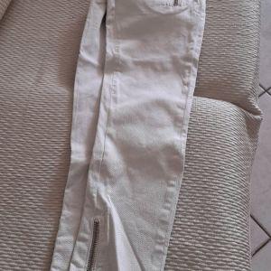 Παντελονι γυναικειο ελαστικο 26 νουμερο με φερμουαρ κατω στο τελειωμα
