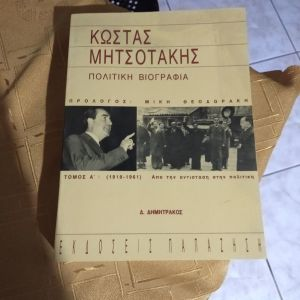 Πολιτική Βιογραφία Κ.Μητσοτακη