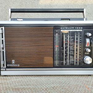 Radio Grundig Satellit 1000. Vintage FM/LM /MW/SW1/SW2/SW3.