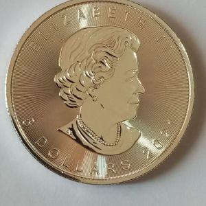 2021 - 1 ουγκιά Pure Silver Coin