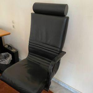 Διευθυντική Καρέκλα Line-D (Dromeas), δερματινη σε εξαιρετικη κατασταση χωρις να εχει φθορες
