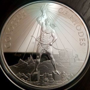 Colossus Of Rhodes Silver Oz