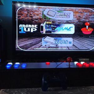 Arcade καμπίνα,  TV. πολυπαιχνιδο με 10.000 παιχνίδια