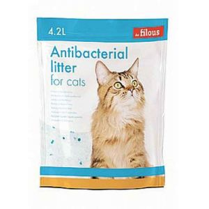 Κρυσταλλική άμμος γάτας χωρίς άρωμα - 4.2l