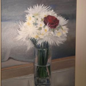 Πίνακας ζωγραφικής. Διαστάσεις 48cm x 59cm. Τιμή 155 ευρώ.