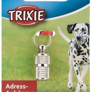 Ταυτότητα βαρελάκι inox Trixie σκύλου/γάτας (2275)